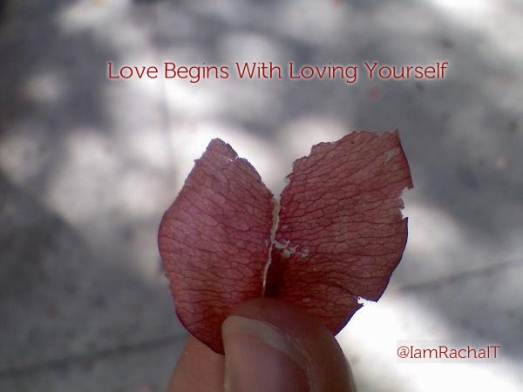 Love Begins With Loving Yourself