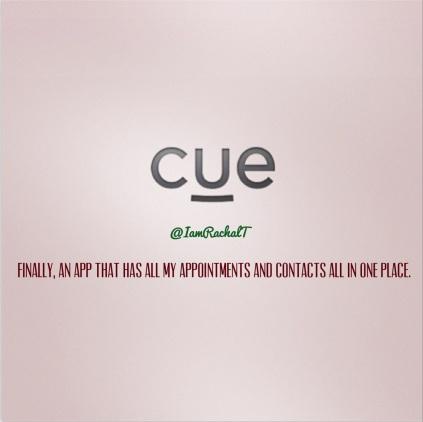 Cue app