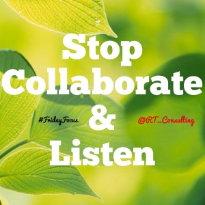 Stop, Collaborate, and Listen